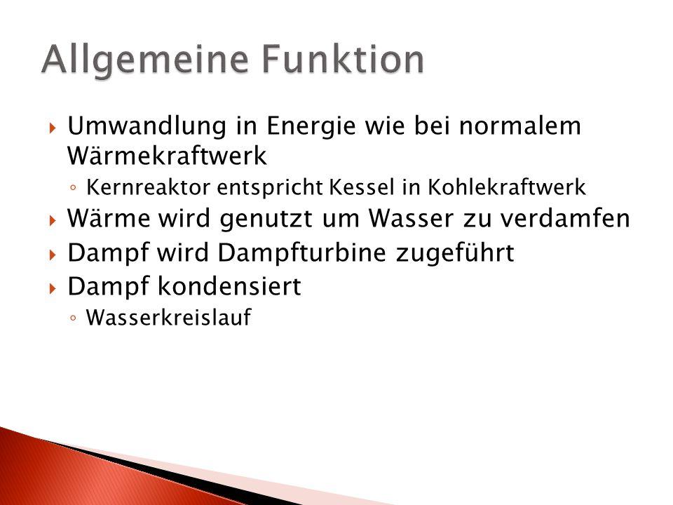 Atomkraftwerk (AKW) Funktionsweise. - ppt herunterladen
