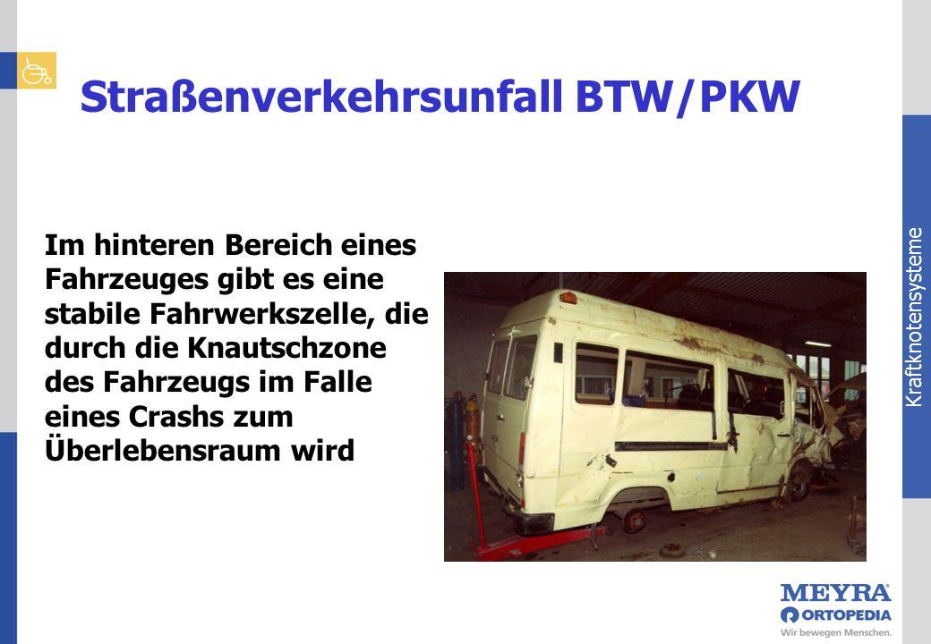 Straßenverkehrsunfall BTW/PKW
