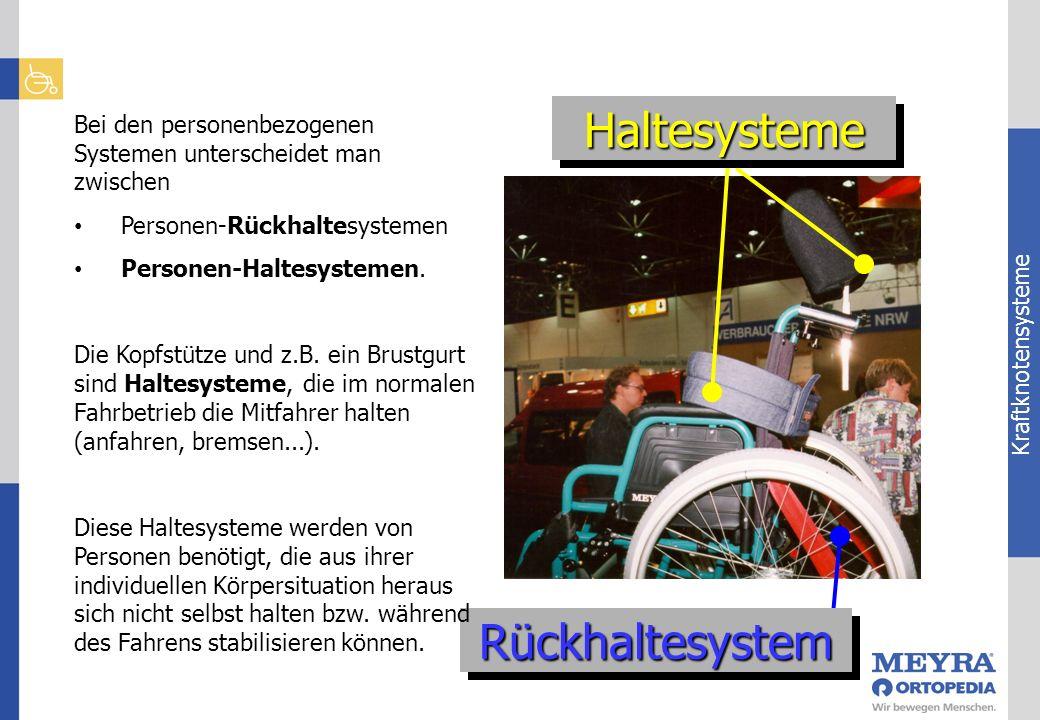 Haltesysteme Rückhaltesystem