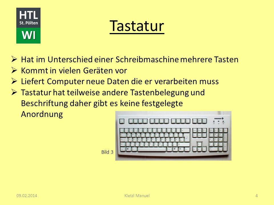 Tastatur Hat im Unterschied einer Schreibmaschine mehrere Tasten