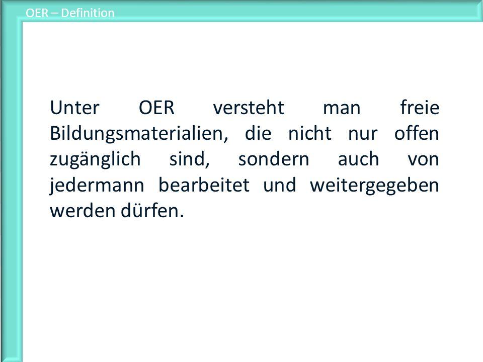 OER – Definition