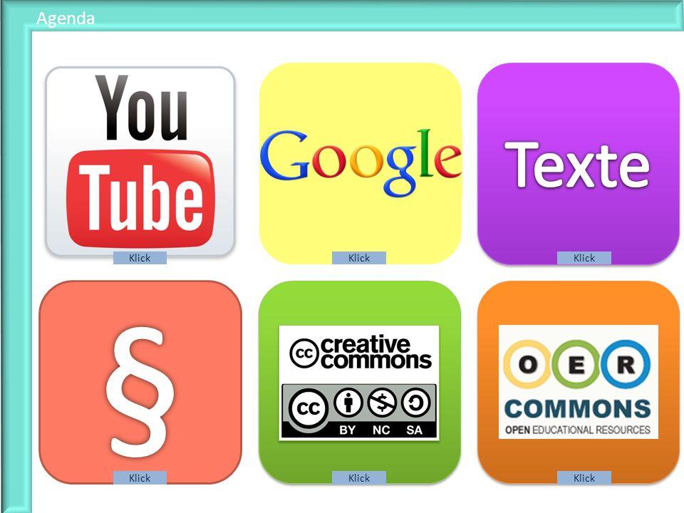 § Texte Filme Fotos Texte Gesetz Lizenzen Trends Agenda Klick Klick