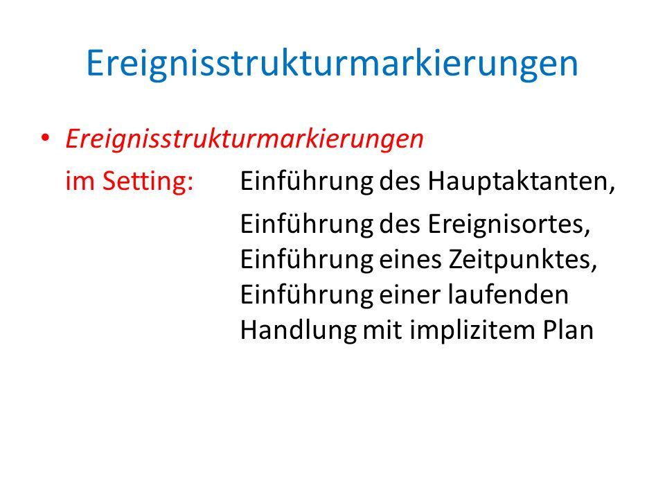 Ereignisstrukturmarkierungen