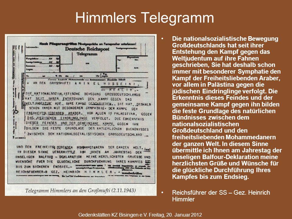 Himmlers Telegramm