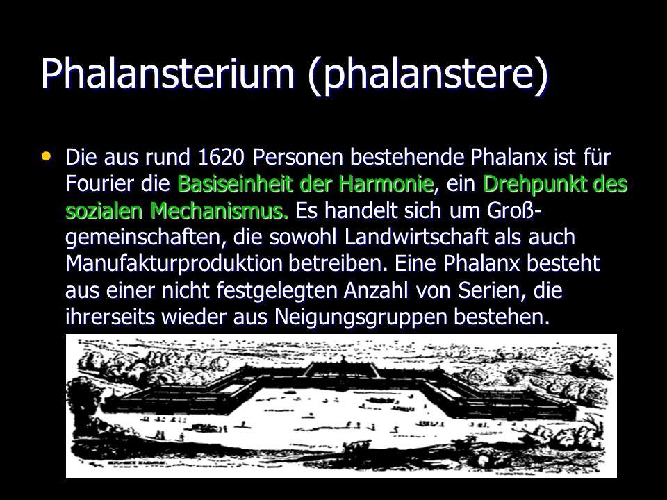 Phalansterium (phalanstere)