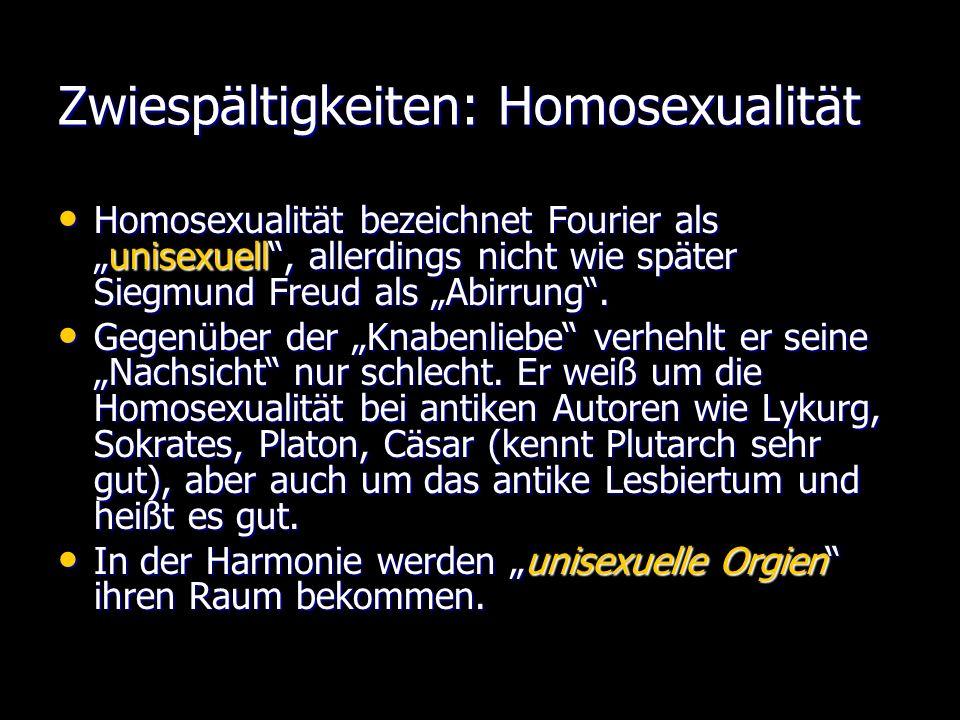 Zwiespältigkeiten: Homosexualität