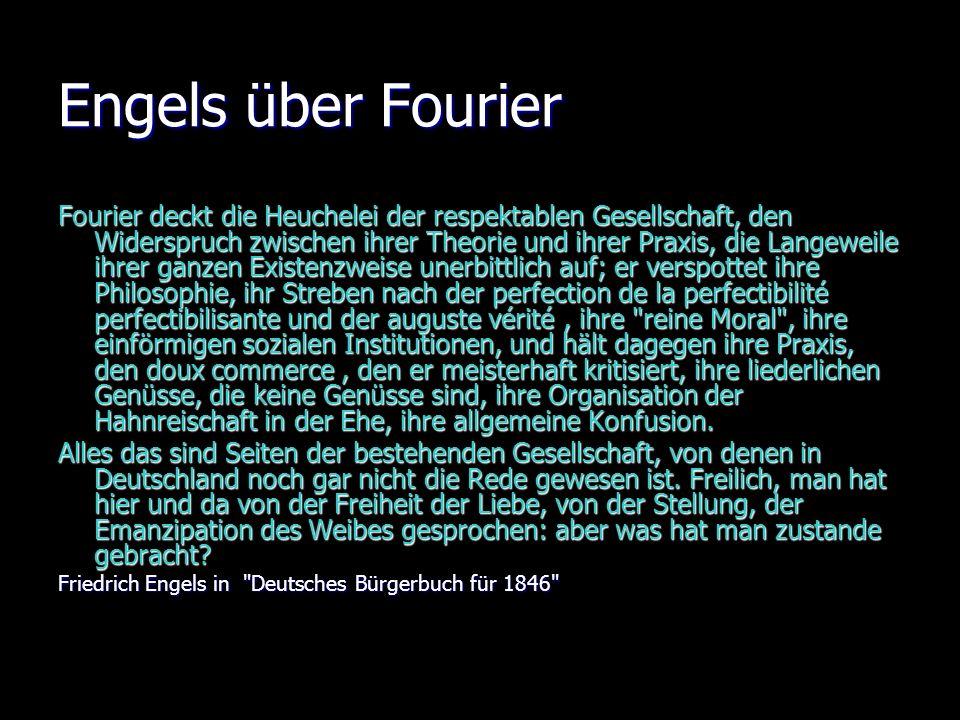 Engels über Fourier