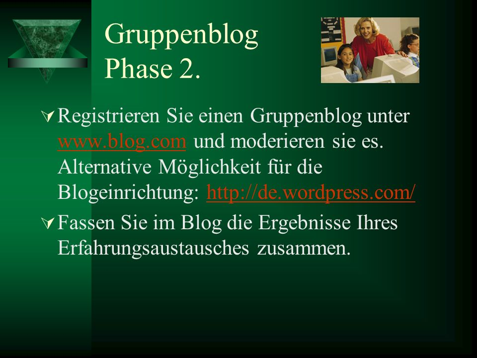 Gruppenblog Phase 2.