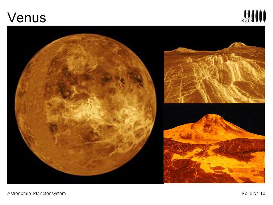Venus Astronomie. Planetensystem.