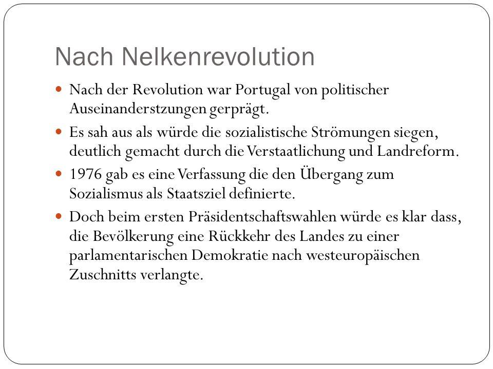 Nach Nelkenrevolution