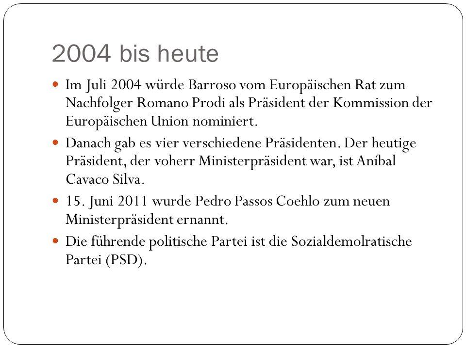 2004 bis heute