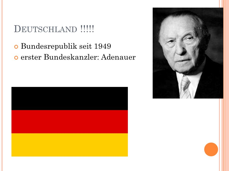 Deutschland !!!!! Bundesrepublik seit 1949