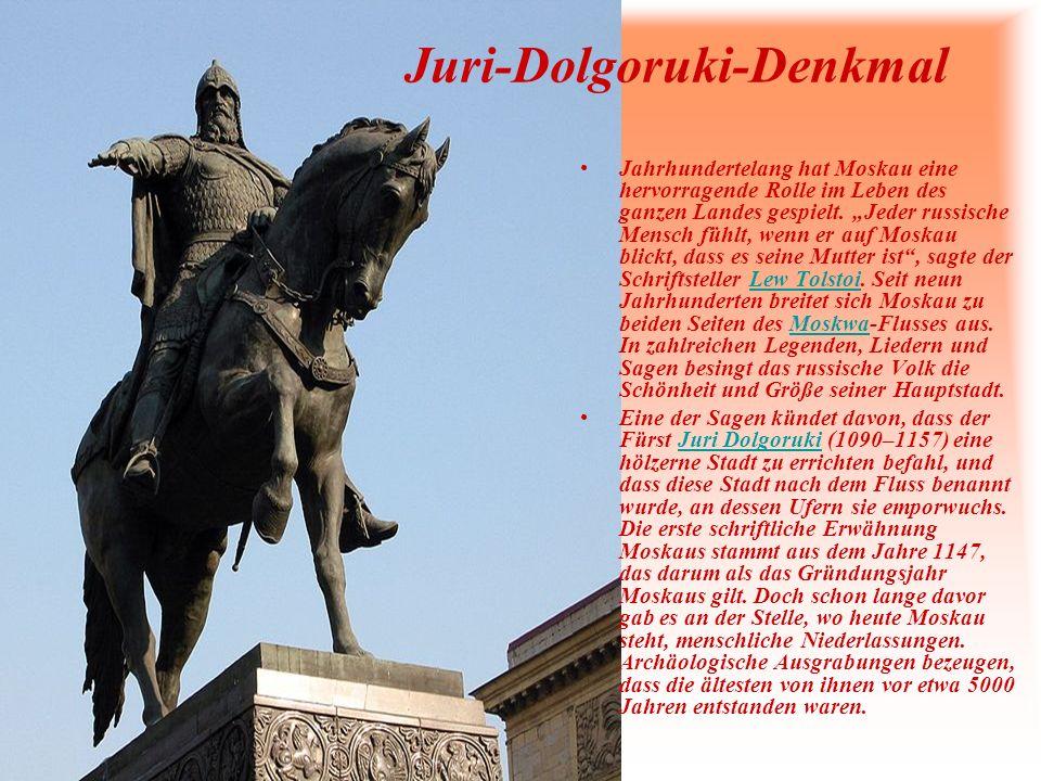 Juri-Dolgoruki-Denkmal