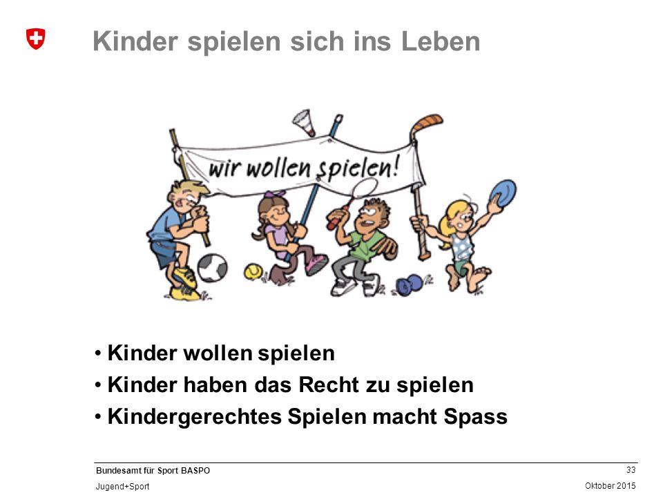 Kinder spielen sich ins Leben