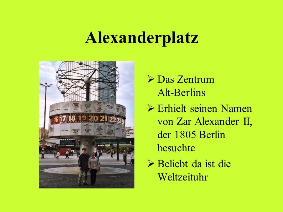 Alexanderplatz Das Zentrum Alt-Berlins