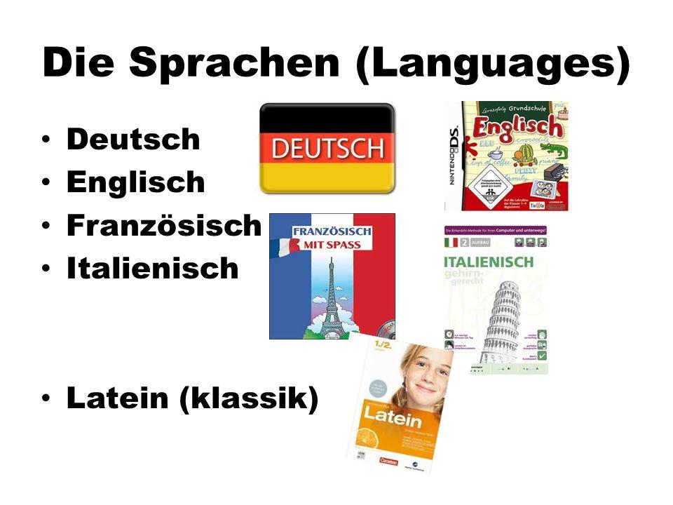 Die Sprachen (Languages)