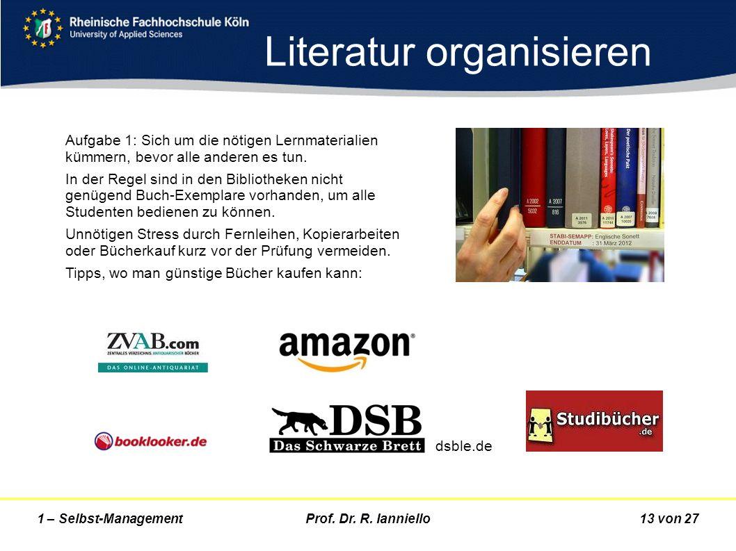 Literatur organisieren