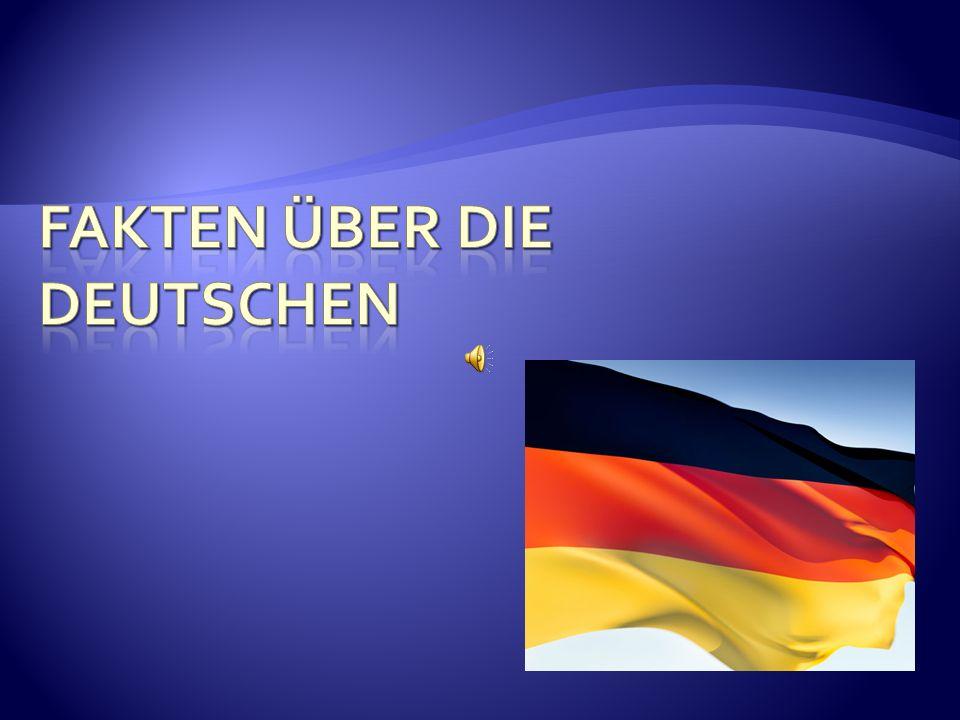 Fakten über die Deutschen