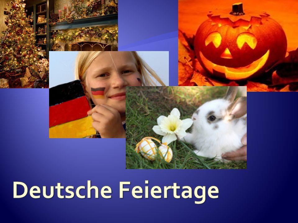 Deutsche Feiertage