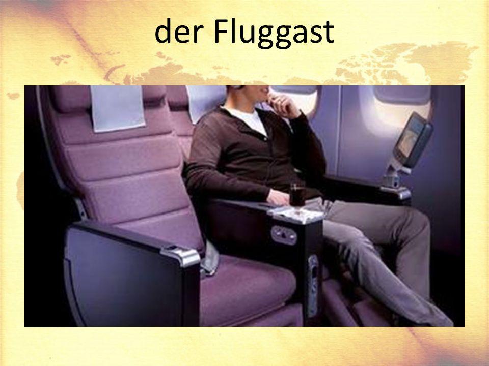 der Fluggast