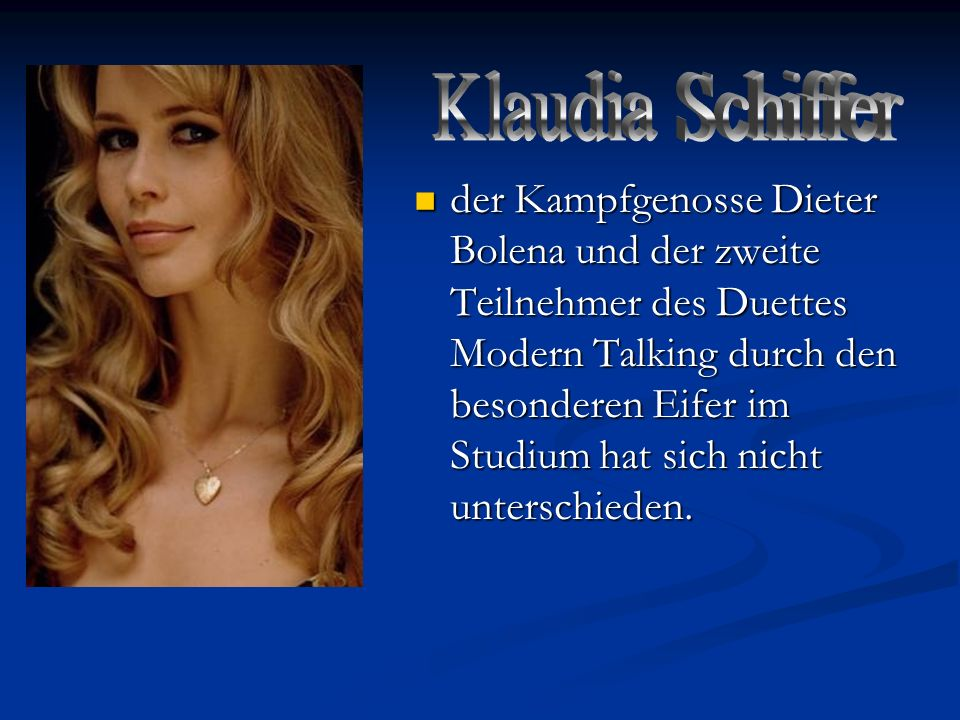Klaudia Schiffer