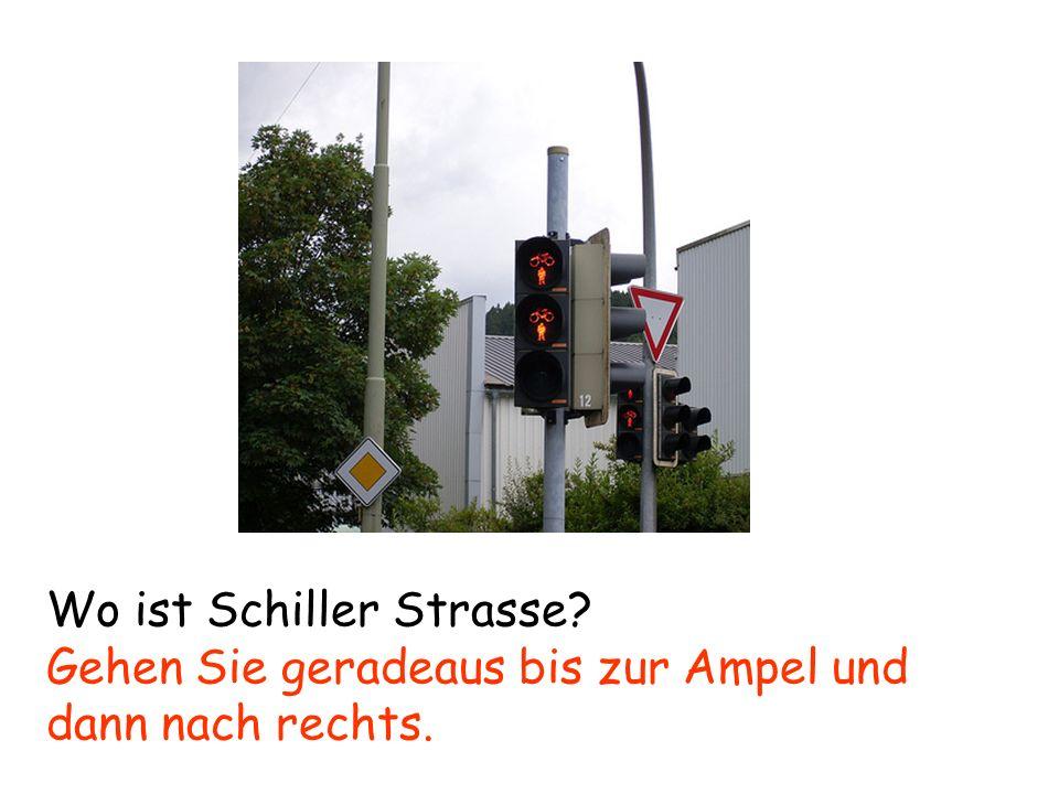 Wo ist Schiller Strasse