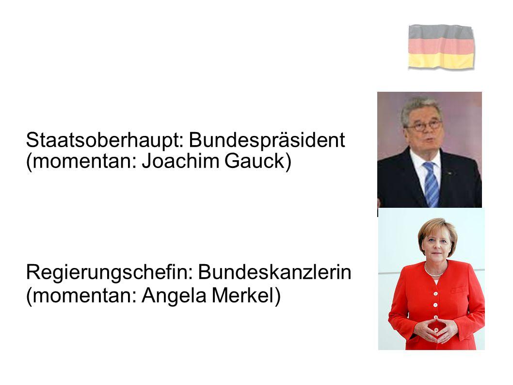 Staatsoberhaupt: Bundespräsident