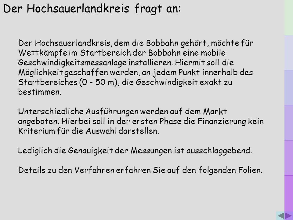 Der Hochsauerlandkreis fragt an: