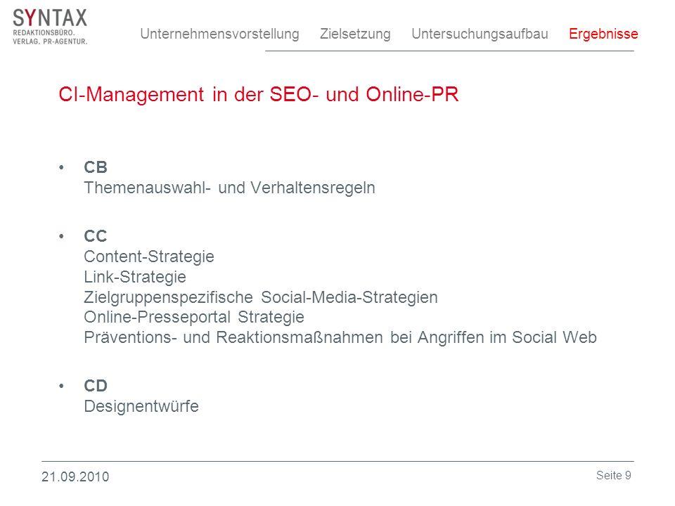 CI-Management in der SEO- und Online-PR