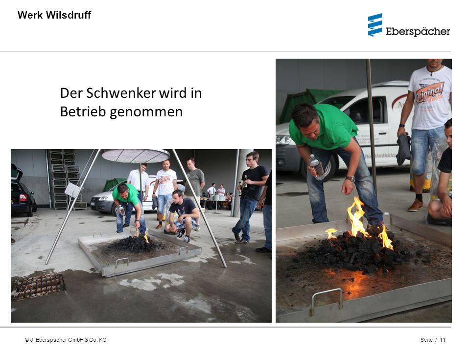 Werk Wilsdruff Der Schwenker wird in Betrieb genommen