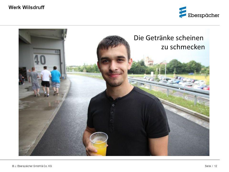 Werk Wilsdruff Die Getränke scheinen zu schmecken