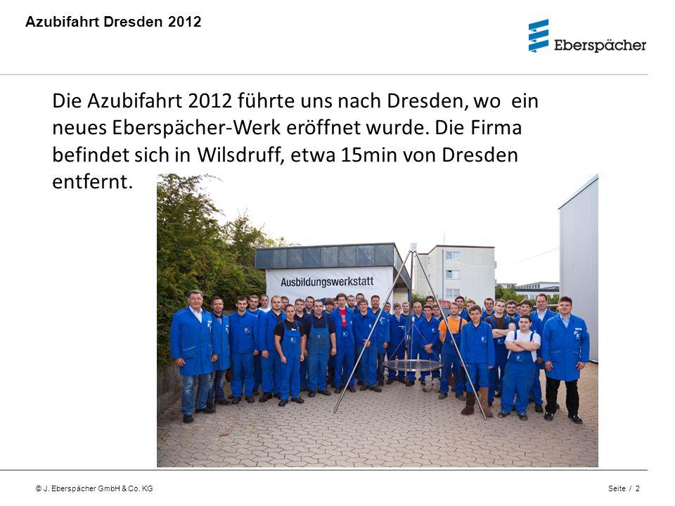 Azubifahrt Dresden 2012