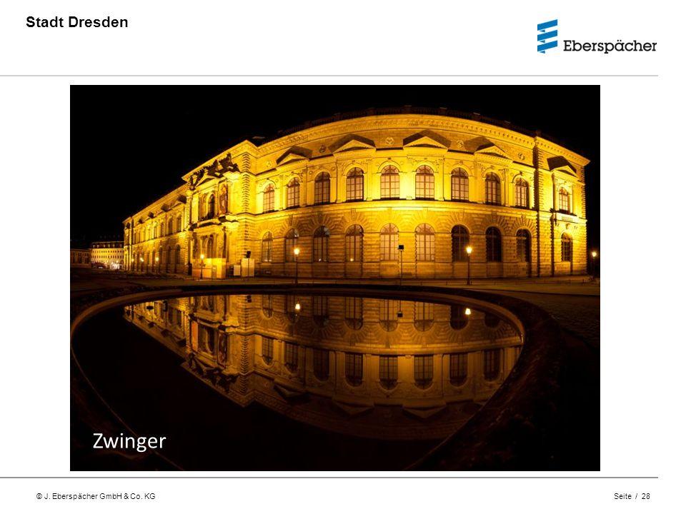 Stadt Dresden Zwinger