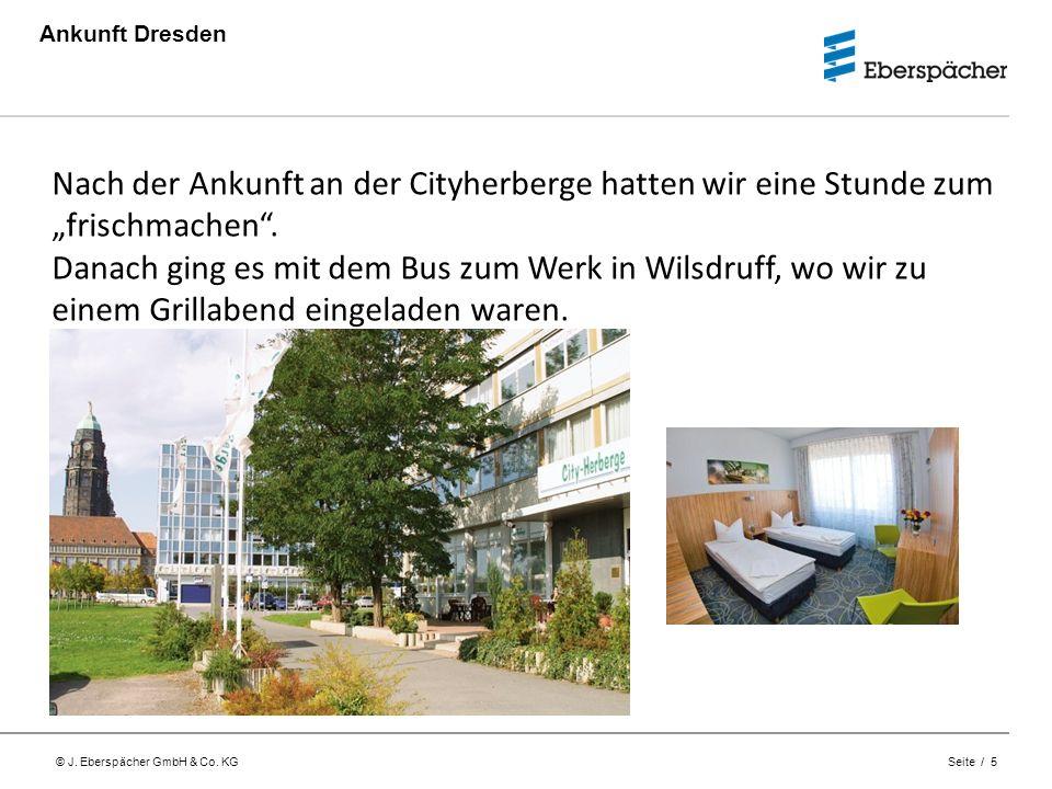 """Ankunft Dresden Nach der Ankunft an der Cityherberge hatten wir eine Stunde zum """"frischmachen ."""