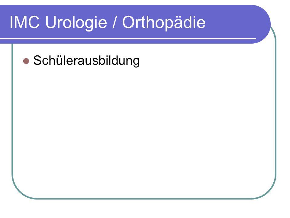IMC Urologie / Orthopädie