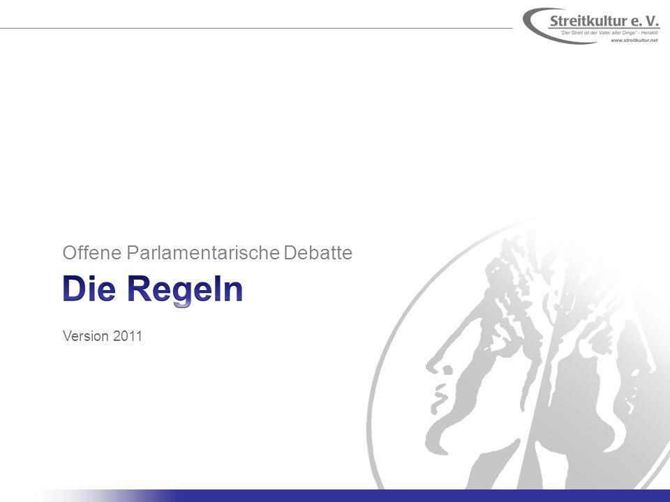 Offene Parlamentarische Debatte