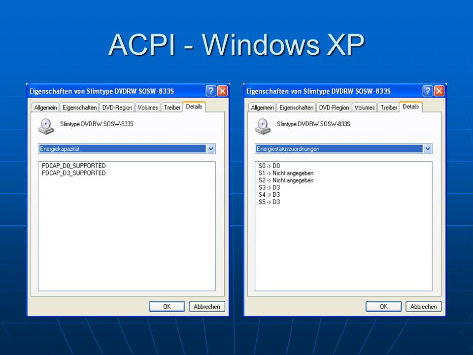 ACPI - Windows XP