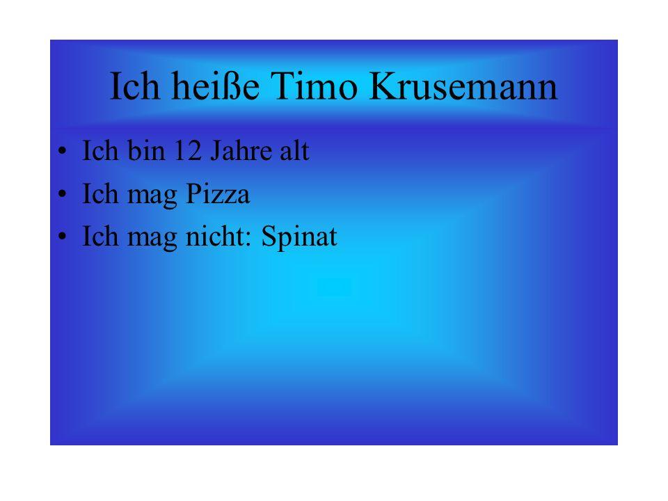 Ich heiße Timo Krusemann