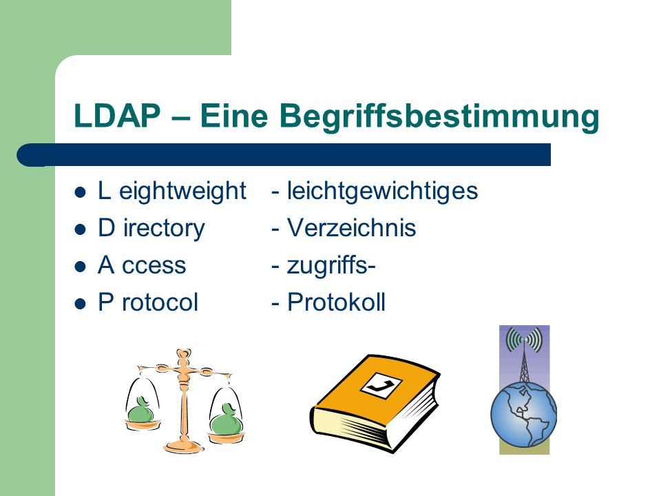 LDAP – Eine Begriffsbestimmung