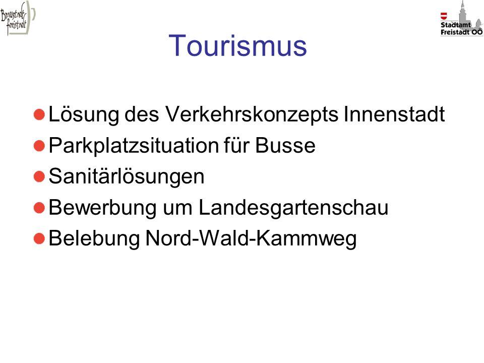 Tourismus Lösung des Verkehrskonzepts Innenstadt