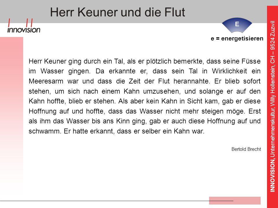 Herr Keuner und die Flut