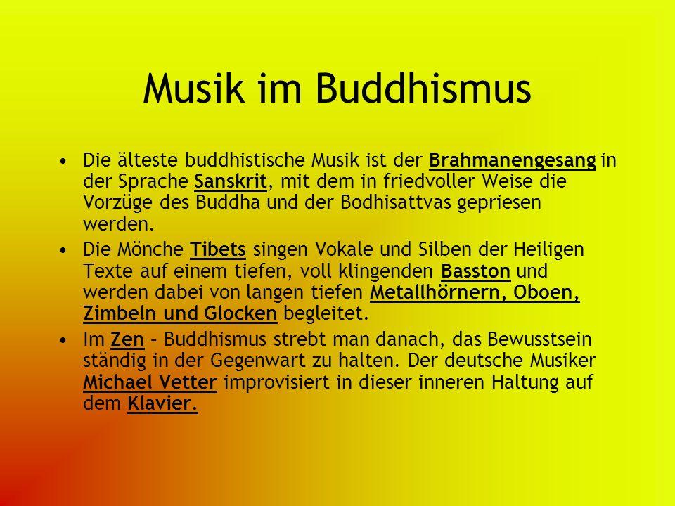 Musik im Buddhismus