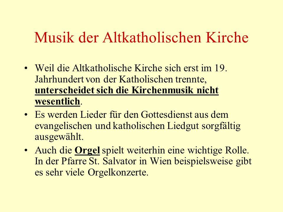 Musik der Altkatholischen Kirche