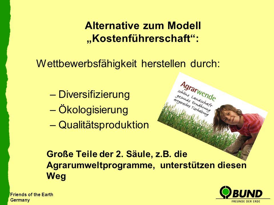 "Alternative zum Modell ""Kostenführerschaft :"