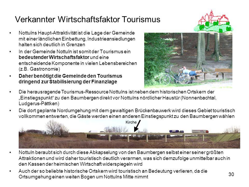 Verkannter Wirtschaftsfaktor Tourismus