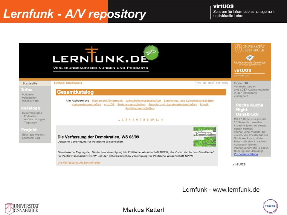 Lernfunk - A/V repository