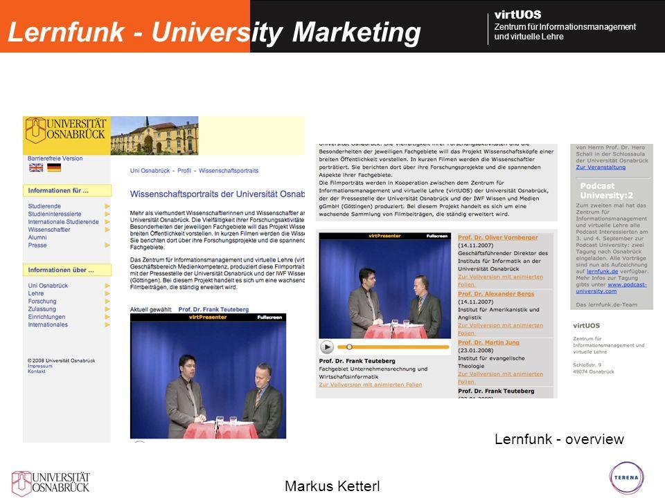 Lernfunk - University Marketing