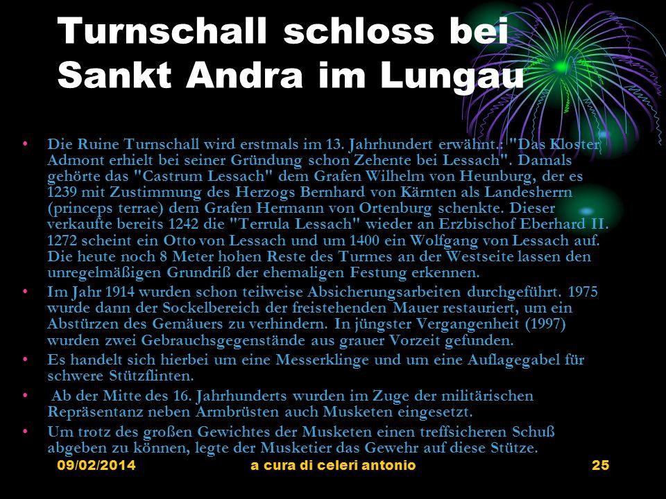 Turnschall schloss bei Sankt Andra im Lungau