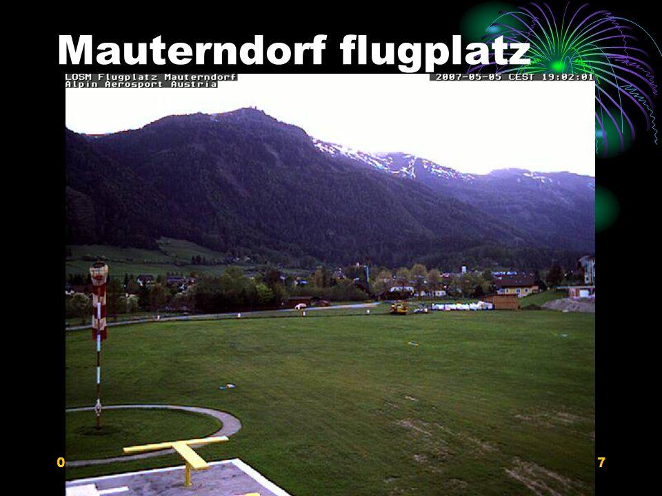 Mauterndorf flugplatz