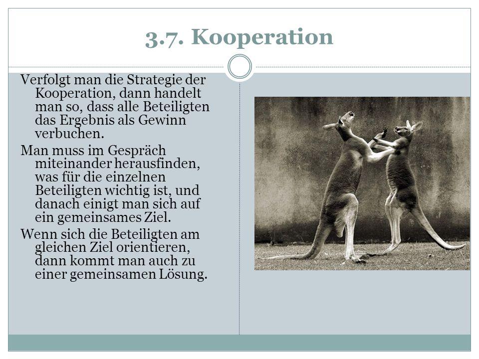 3.7. Kooperation